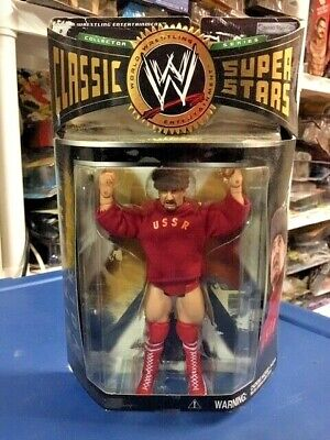 NIKOLAI VOLKOFF Jakks WWE Classic Superstars Series 5 Wrestling Figure MOC WWF