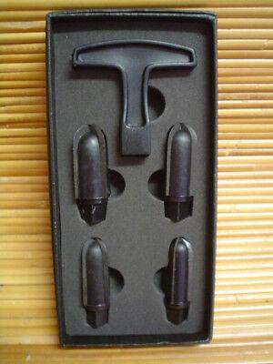 Pipe Reamer 5-teiliges  Pfeifen Reinigungs  Set NEU