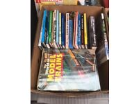 Two boxes of Railway Books and Magazines