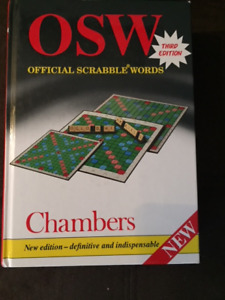 Chambers Official Scrabble Words 3rd edition