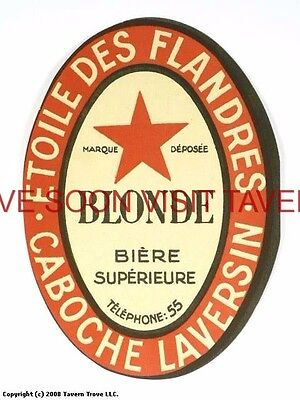 Scarce France Etoile Des Flandres Blonde Biere Tavern Trove French Beer (French Blonde Beer)