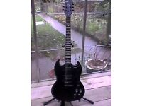 Epiphone Gothic SG400...trade for your mid market broken guitar??