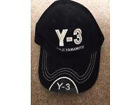 Y-3 Y0HJI YAMAMOTO BLACK CAP