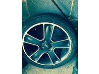 spare BMW Mini bullet alloy wheel