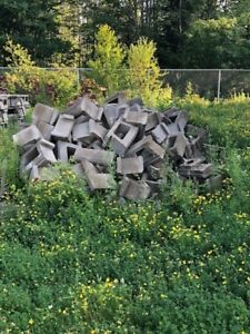 Allan Blocks used for Retaining Wall