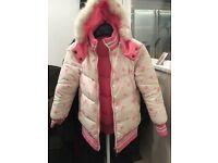 Reversible jacket for girls