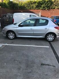 Brilliant 206 Peugeot for Sale, cheap to run (insurance, Road Tax etc)