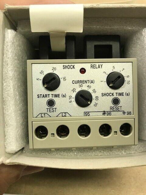 Tsubaki Emerson Shock Relay TSBSS60 .2-30 second Start time 5 amp-60amp NIB