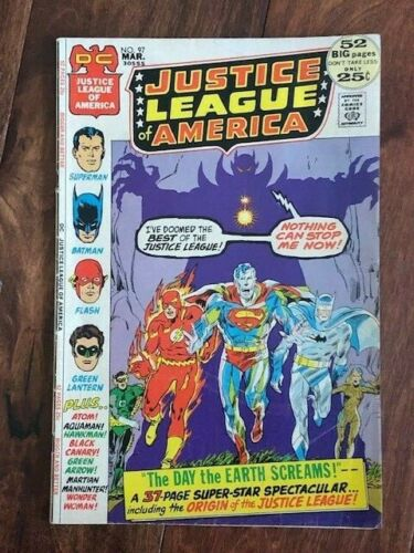 Justice League of America #97 Comic Book 1972