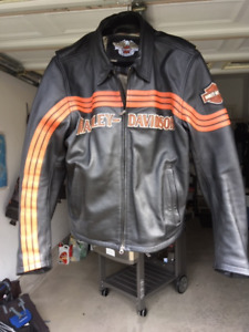 Harley Davidson Old School leather jacket XL