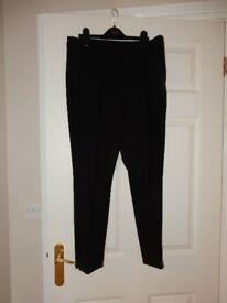 Gokx Black Size 12S Ladies Trousers
