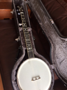 Gold Tone OT-800 5string open back banjo with deluxe case
