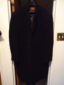 WOOL AND CASHMERE WINTER PEA COAT NICE LIKE NEW