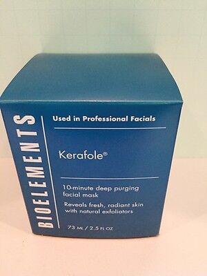 Bioelements Kerafole Deep Purging Facial Exfoliating Mask - 2.5oz Full Size Box