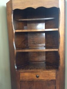 CORNER CABINET - SOLID WOOD!!!