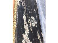 Granite work top