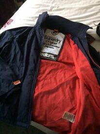 Mens Superdry Original Windcheater Jacket (Navy)