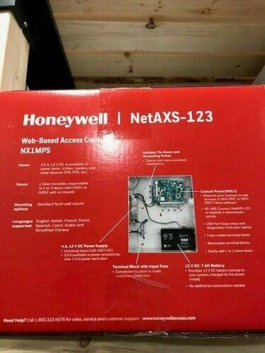 Honeywell NetAXS-123 NX1MPS