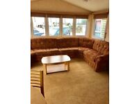 CHEAP DOUBLE GLAZED AND HEATED STATIC CARAVAN, LYONS WINKUPS, TOWYN, NORTH WALES