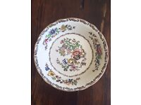 "Alfred Meakin ""Jerome"" Hand painted dinner service ""Royal Marigold"""