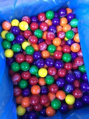 10 LBS NERDS GUM BALLS 1 INCH ASSORTED COLORS WITH CANDY CENTER