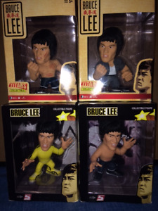 SET OF 4 BRUCE LEE ACTION FIGURES NEVER OPENED