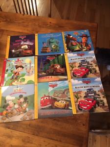 Collection de livres disney pixar