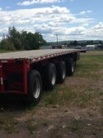 4 Axle flat bed