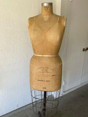 Vintage Wolf Dress Form