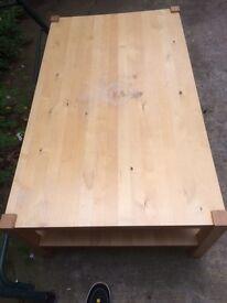 Large Ikea used coffee table