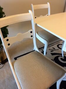 Vintage Dining Room with  4 chairs and corner cabinet Sarnia Sarnia Area image 7