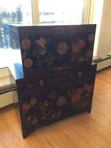 Decorative Chinese Chests / Display Cabinets