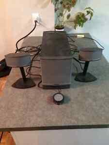 Système de haut-parleurs multimédia BOSE multimedia speakers West Island Greater Montréal image 1