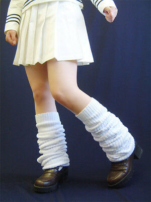 Loose Socks For Japanese School Uniform or Cosplay, REAL (Select ANY Size)