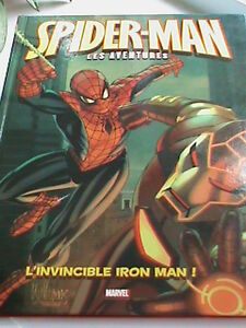 BD Spider-man l'invincible Iron man  EXCELLENT ETAT