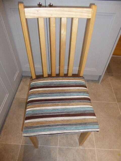 Four IKEA dining room chairs for sale