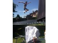 14ft trampoline £50 or nearest offer