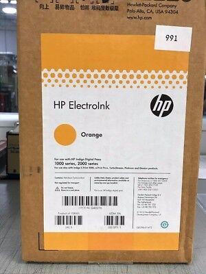 Hp Electroink Orange For Hp Indigo Digital Press 1000 2000 Series 10 Can
