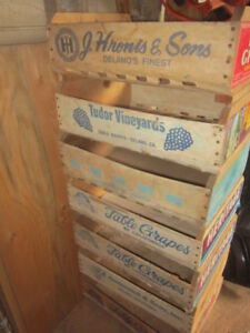 Decorative Storage. Vintage containers..  $10.00 Each