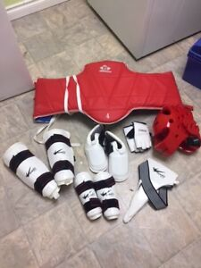 Taekwondo Sparring gear - Adult and child
