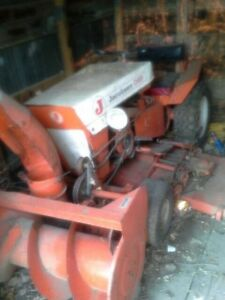 Antique Jacobson lawn tractor