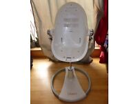 Used white Bloom Fresco high chair for collection - £45 ONO