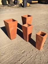 4 TALL TERRACOTTA POTS Darra Brisbane South West Preview