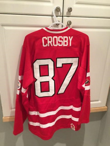 BRAND NEW SIDNEY CROSBY VANCOUVER OLYMPIC HOCKEY JERSEY