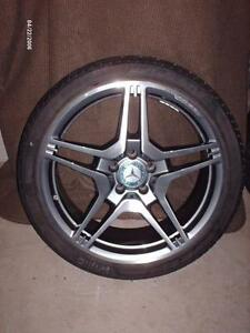 """AMG"" WHEEL WITH TIRE for MERCEDES ""E-class"" (W212)"