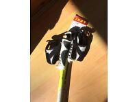 New Leki Spark S ski poles (135cm)