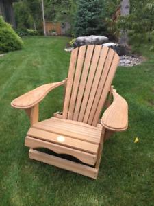 Brand New Western Red Cedar Adirondack Chair