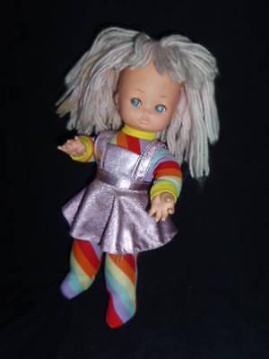 Vintage 1980s Rainbow Brite Type Doll
