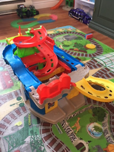 Toddlers' Car Track