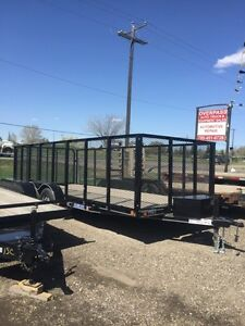 TRAILER 18 X 7 FT. LOAD TRAIL 2016